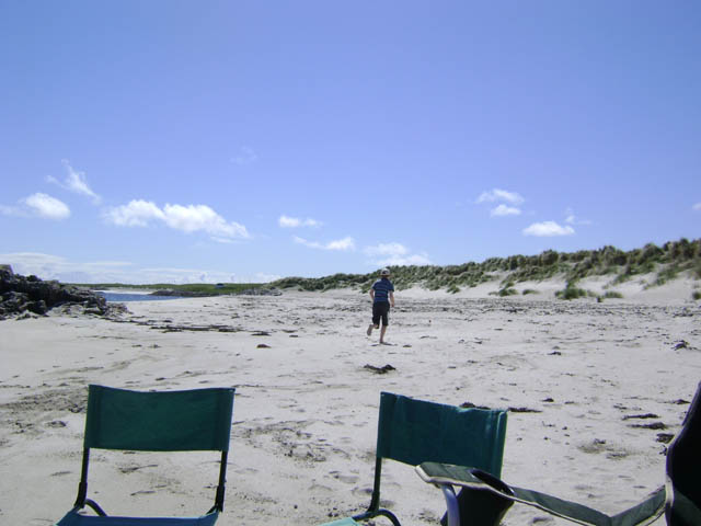 Holiday cottage to rent on Tiree near the beach