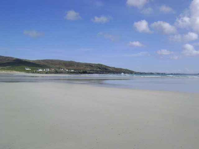 Fantastic Tiree weather on Balephuil Beach